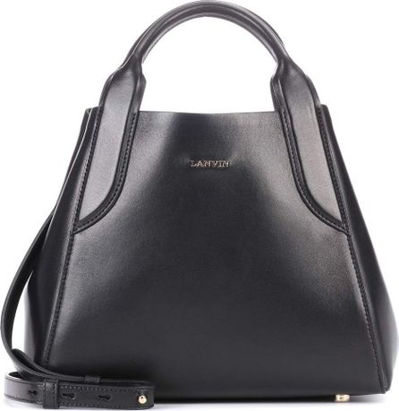 Lanvin Small Cabas leather tote