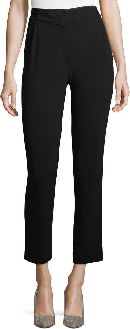 Giorgio Armani Cropped Stretch-Wool Pants