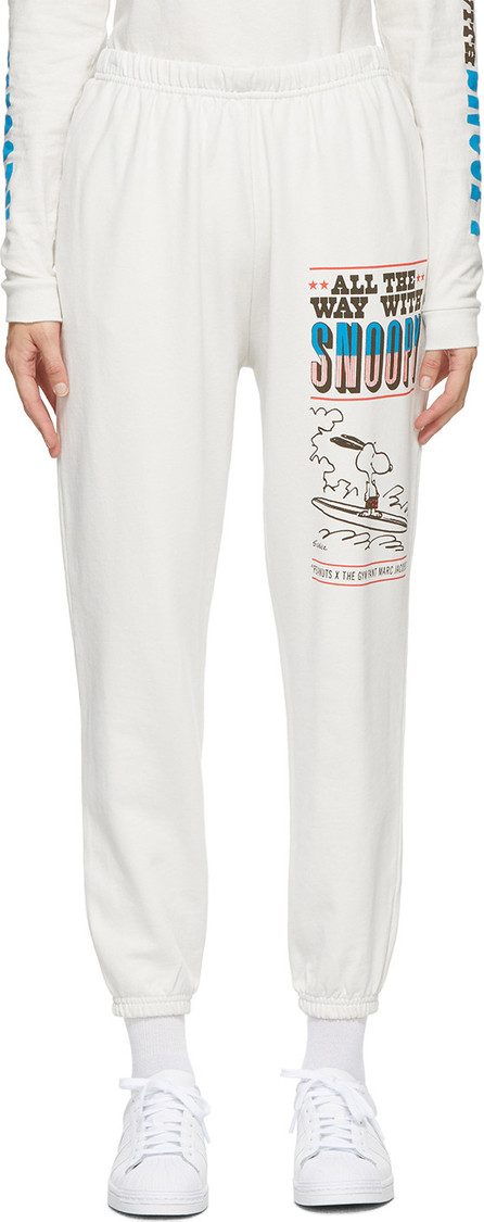 MARC JACOBS Off-White Peanuts Edition 'The Gym' Lounge Pants