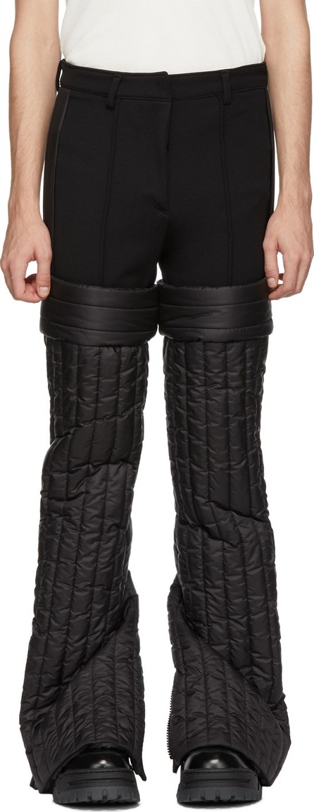 Colmar A.G.E. By Shayne Oliver Black Quilted Trousers