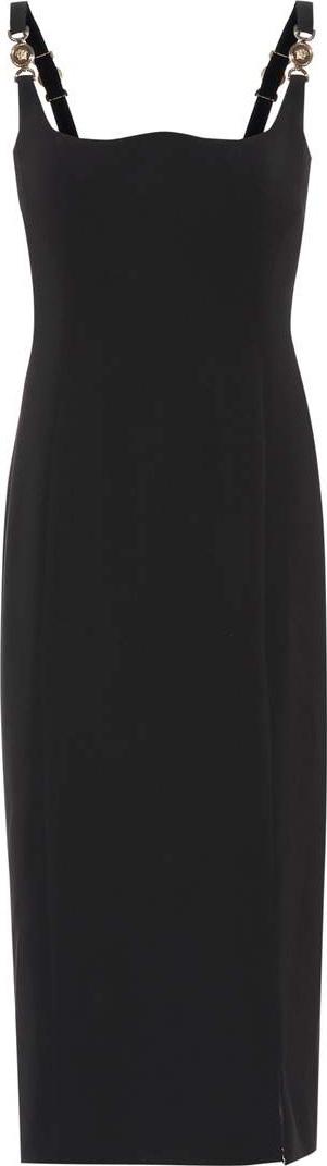 Versace Silk midi dress
