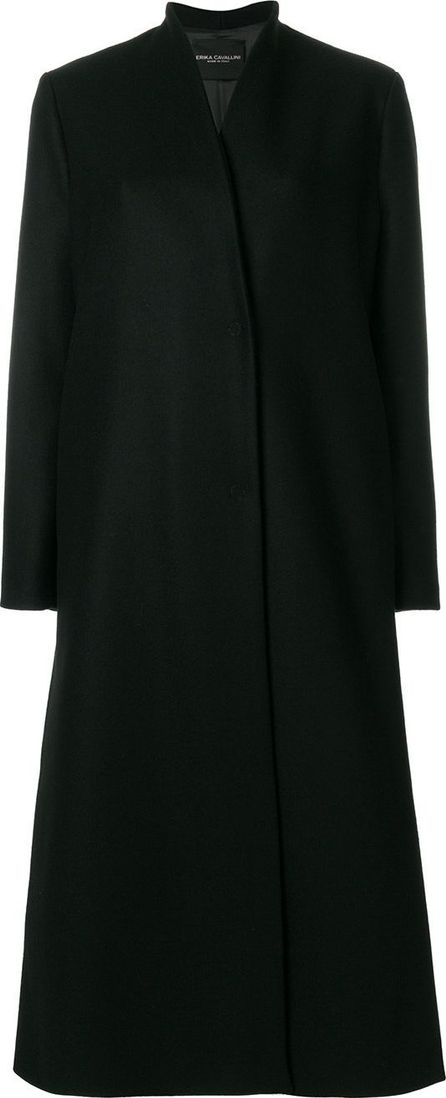 Erika Cavallini long flared coat