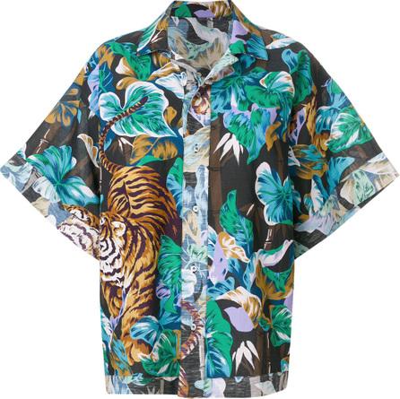 KENZO Reversible Bamboo Tiger shirt