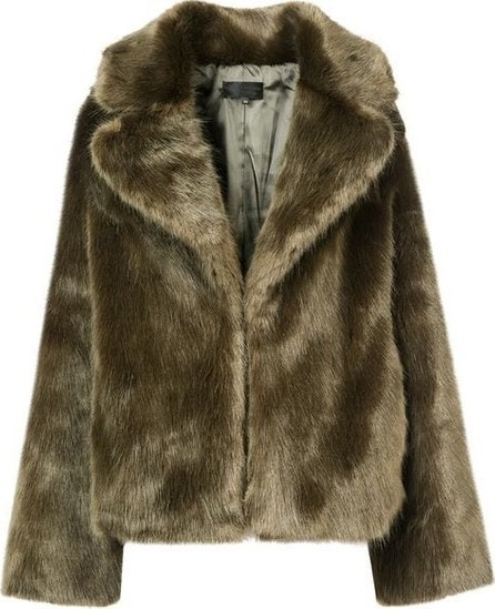 Nili Lotan Faux Fur Coat