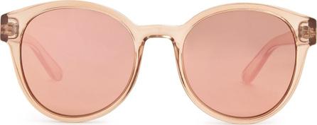 Le Specs Paramount round-frame acetate sunglasses