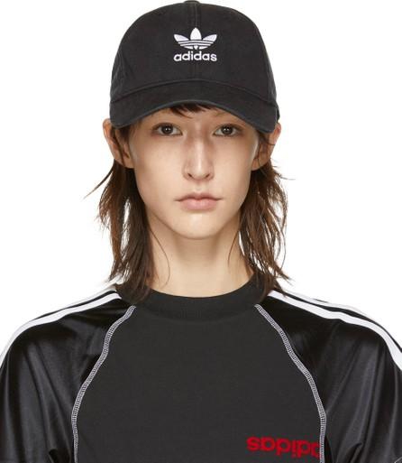 Adidas Originals Black Washed Adic Cap