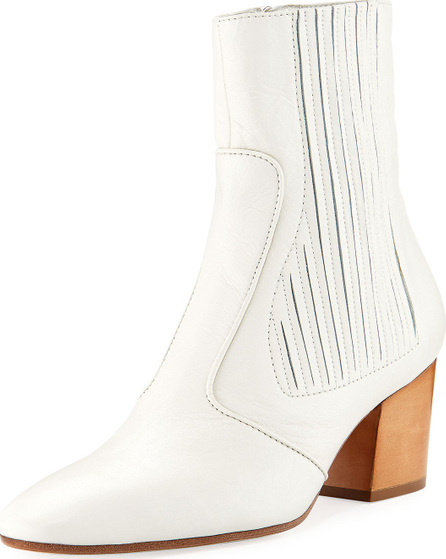 Laurence Dacade Ringo Pleated Leather Bootie