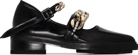 Simone Rocha Chain-detail chunky pumps
