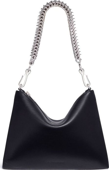 Alexander Wang 'Genesis' interlocking chain strap leather pouch