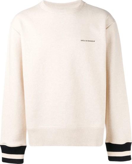 Drôle De Monsieur Knitted sweatshirt