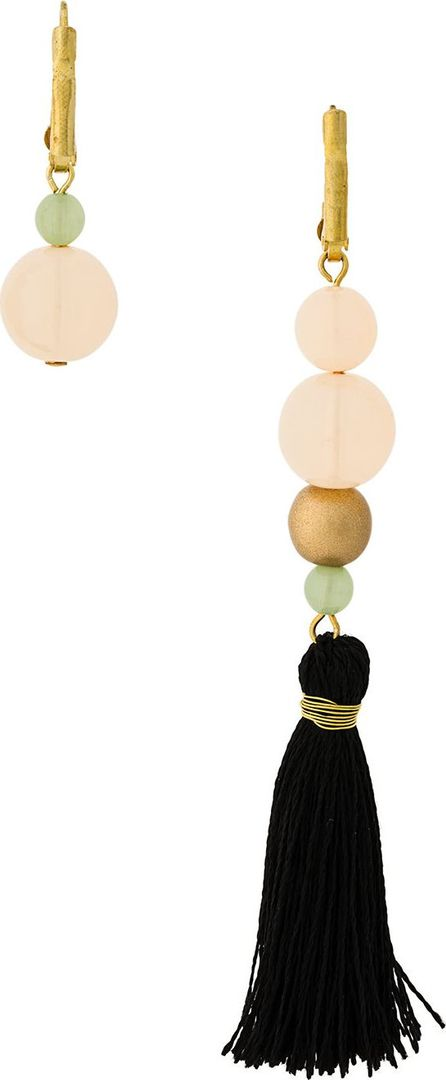 Forte Forte Asymmetric tassel earrings
