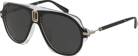 Balmain Morgan Aviator Sunglasses
