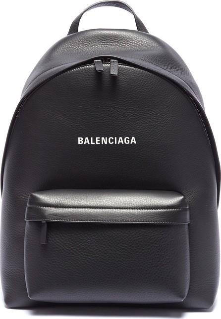 Balenciaga 'Everyday' logo print leather backpack