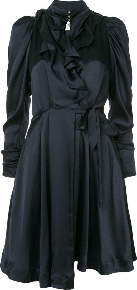 Aje Embudo wrap dress