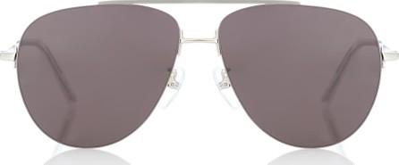 Balenciaga Invisible aviator sunglasses
