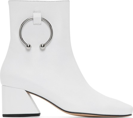 Dorateymur White Leather Nizip Boots