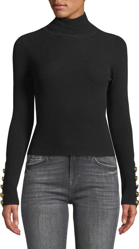 A.L.C. Desi Ribbed Merino Turtleneck Sweater