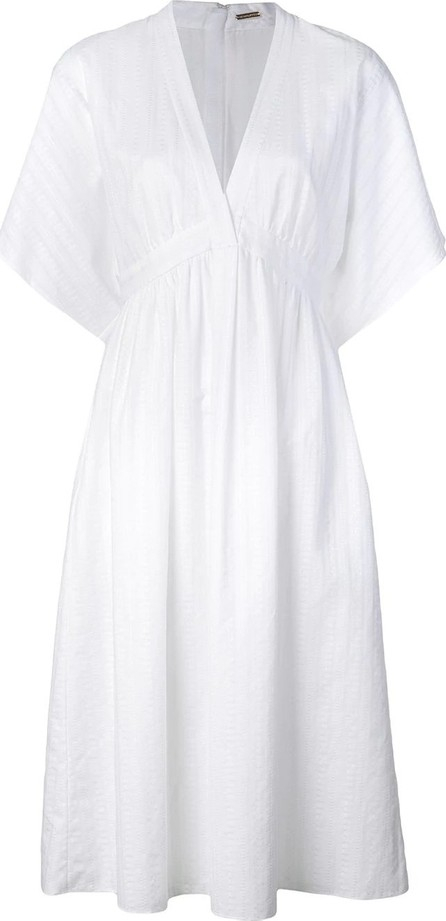 Adam Lippes Flutter sleeve dress