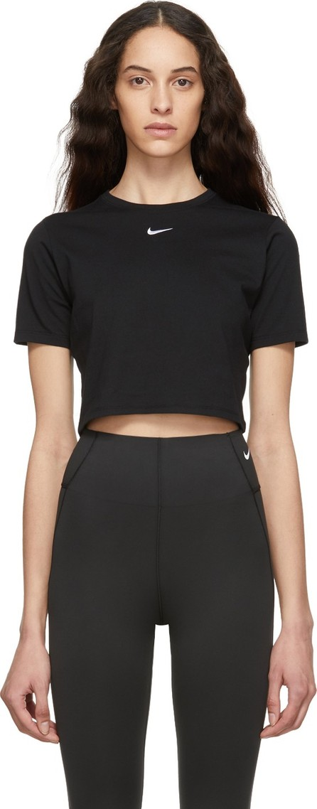 Nike Black Sportswear Essential Crop T-Shirt