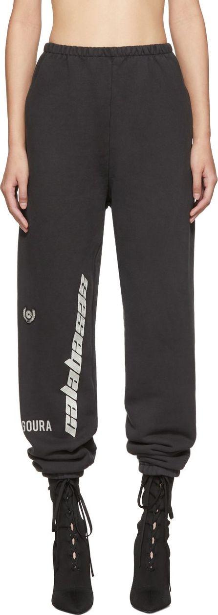 Yeezy Black 'Calabasas' French Terry Sweatpants