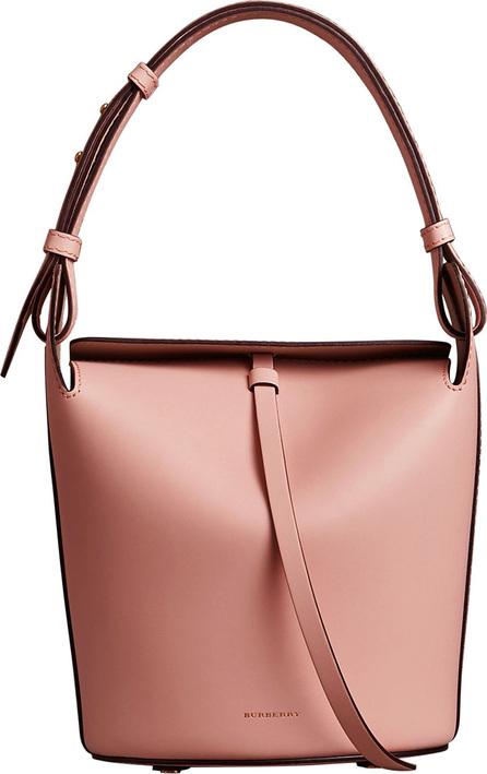 Burberry London England The Small Leather Bucket Bag
