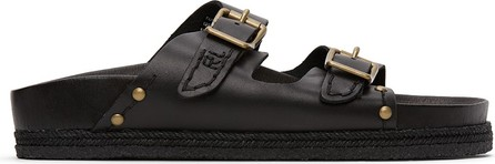 Polo Ralph Lauren Black Turbach Sandals