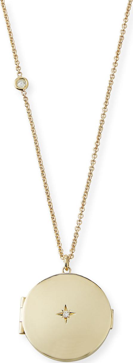 Zoe Chicco 14k Star Diamond Locket Necklace