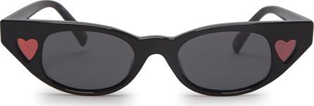 Le Specs X Adam Selman Heartbreaker acetate sunglasses