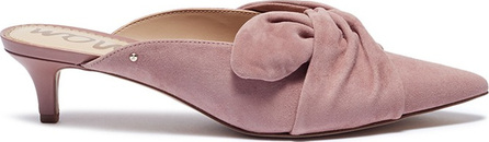 Sam Edelman 'Laney' knotted suede mules