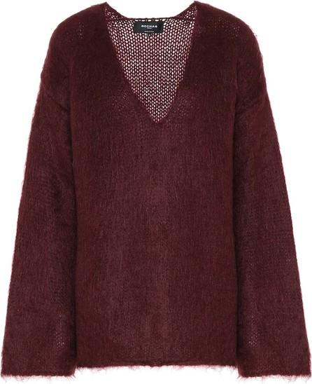 ROCHAS Oversized mohair-blend sweater