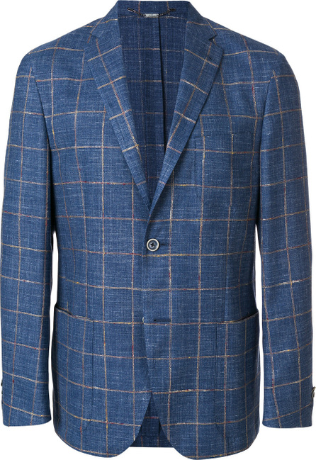 Corneliani Checked print jacket