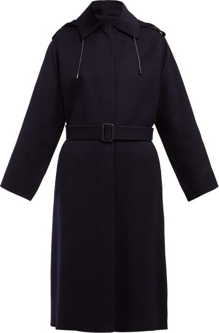 Joseph Carbon Feather single-breasted wool-blend coat
