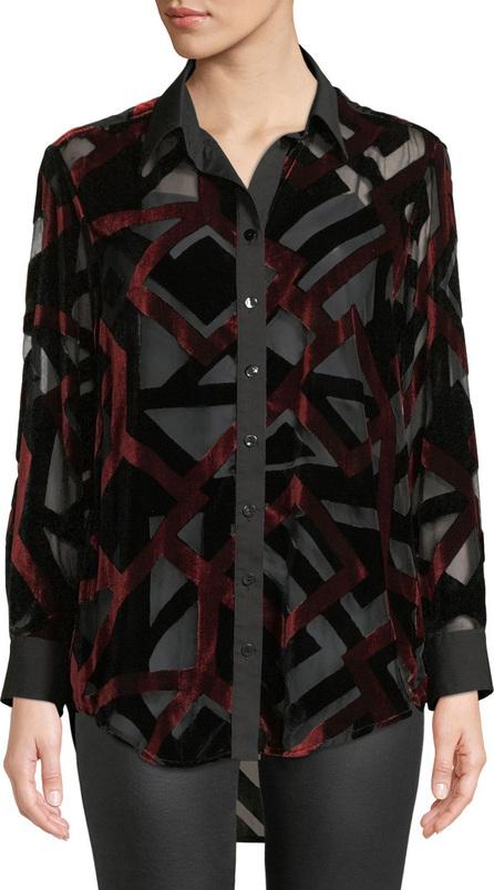 Finley Monica Velvet Devore Shirt