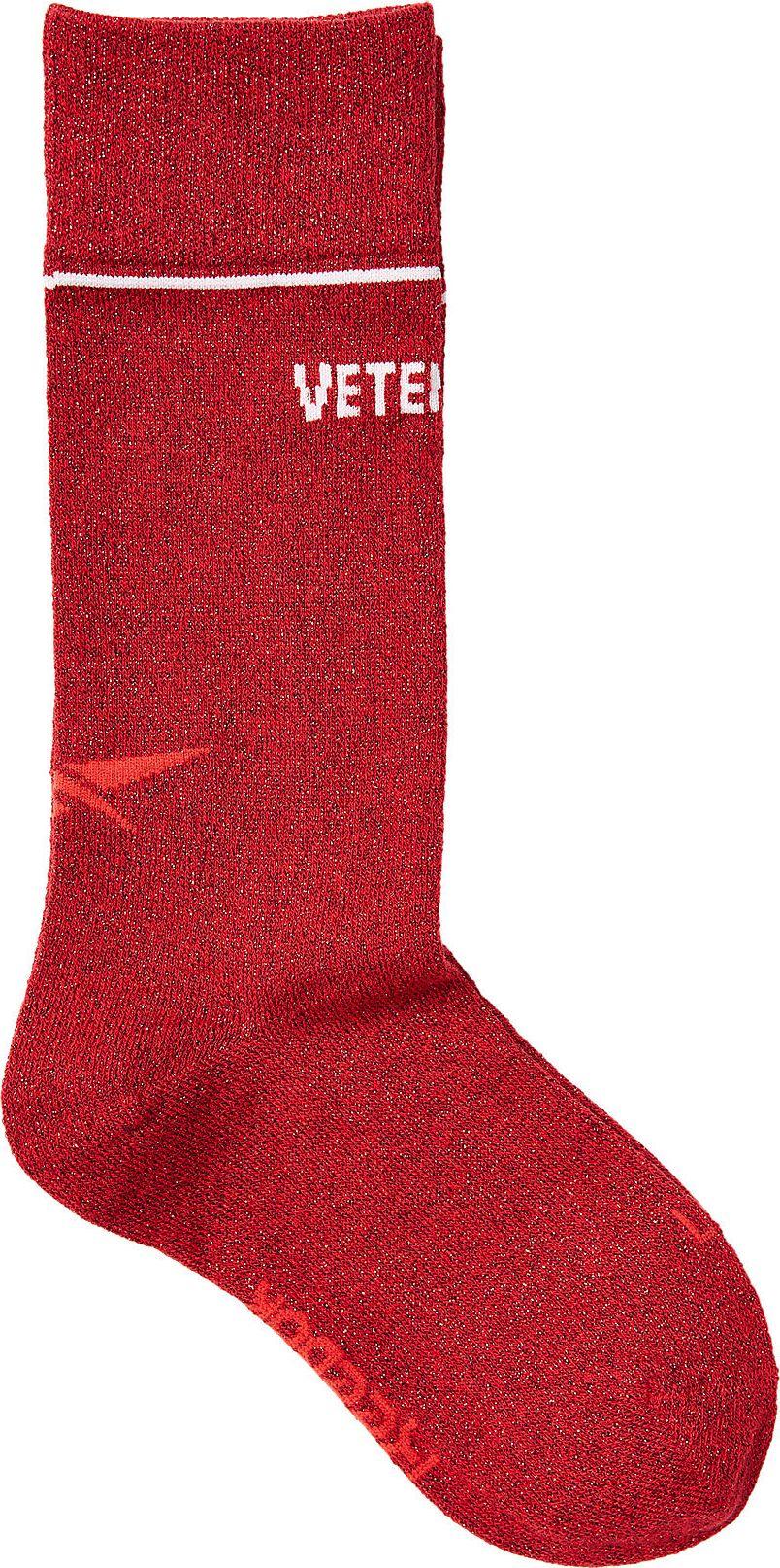 Vetements - X Reebok Printed Socks with Metallic Thread