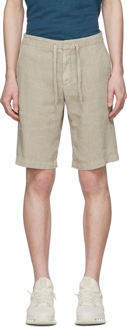 Z Zegna Beige Linen Shorts