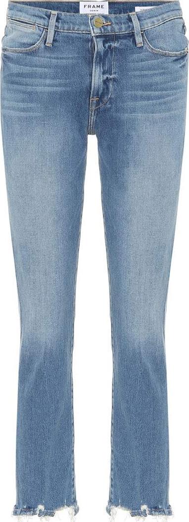 FRAME DENIM Le High straight-leg jeans