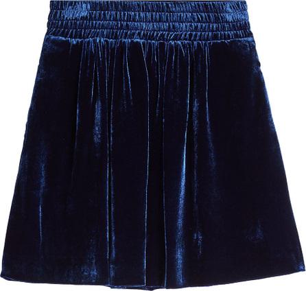 Golden Goose Deluxe Brand Albina Velvet Skirt