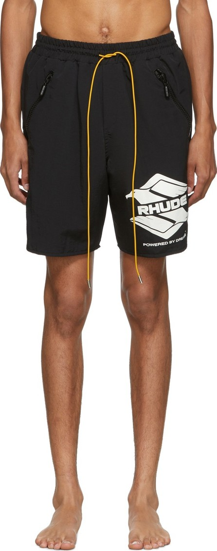 RHUDE Black Rhanger Swim Shorts
