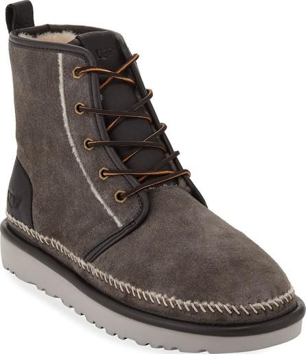 UGG Men's Harkley Stitch Suede Boots
