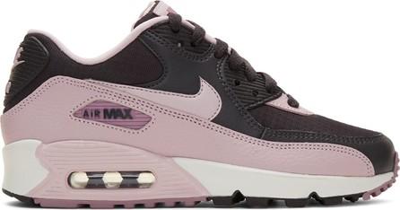 Nike Grey & Purple Air Max 90 Sneakers