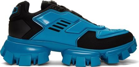 Prada Black & Blue Cloudbust Thunder Sneakers
