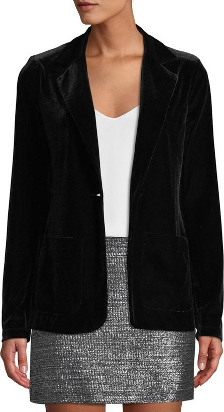 Bailey 44 Blackjack Velvet Single-Button Jacket