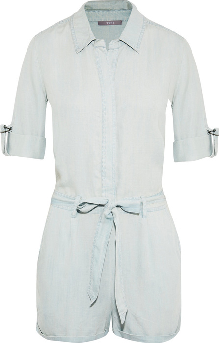 Tart Collections Kaelyn belted Tencel playsuit