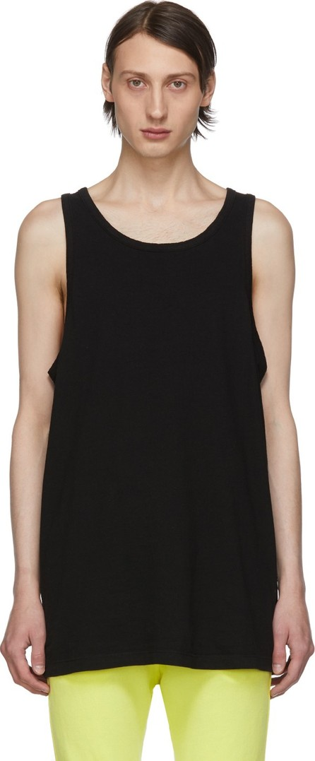 John Elliott Black Rugby Tank Top