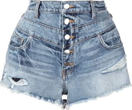Amiri high-waisted shorts