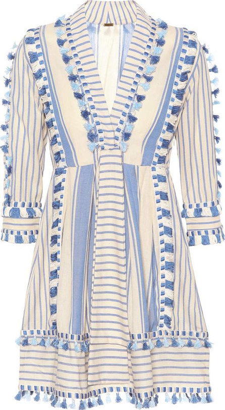 DODO BAR OR Embroidered cotton minidress