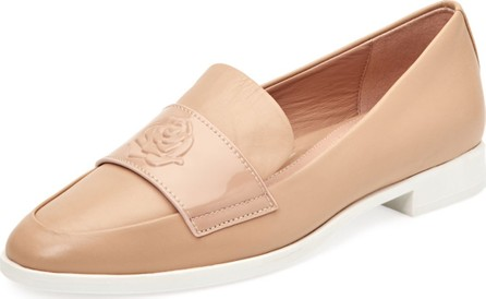 Taryn Rose Blossom Patent/Leather Loafers