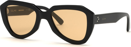 Celine Acetate Aviator Sunglasses