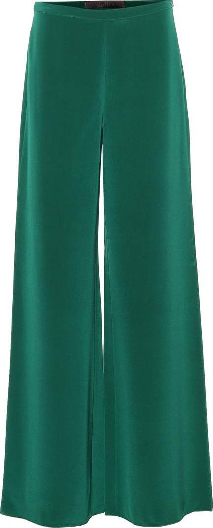 Max Mara Affetto silk trousers