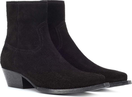 Saint Laurent Lukas 40 suede ankle boots